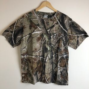 Realtree Men's Camo Tee Shirt